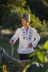 Romanian teenager