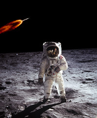 Astronaut Spaceman Moon