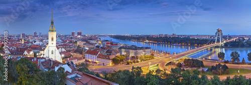 In de dag Oost Europa Bratislava, Slovakia.