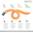 Pencil and Infographic