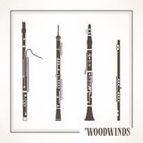 dřevěné dechové nástroje