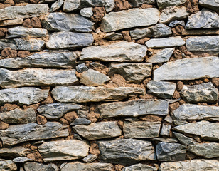 close-up of of stone wall for background
