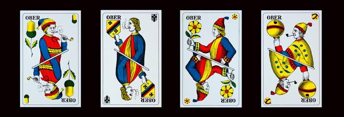 Spielkarten - Jassen - OBER