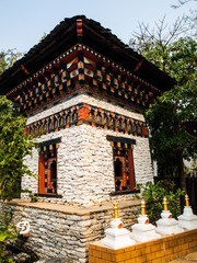 Bhutan traditional architecture