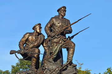 Monument to the Heroes of the First world war. Kaliningrad, Russ