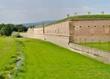 Graben an der Mauer der kleinen Festung Thereisenstadt