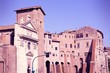 Rome - Teatro Marcello. Cross processed color.
