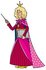 Beautyful queen-teacher