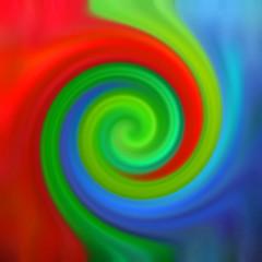 Spirale colori RGB