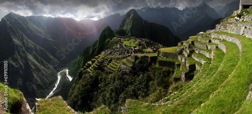 Foto op Canvas Zuid-Amerika land Machu Picchu
