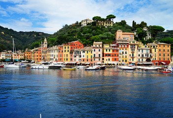 City of Portofino, Liguria, Italy