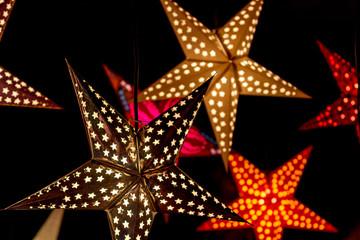 Illuminated Christmas Stars