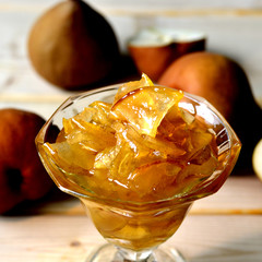 Pear jam.