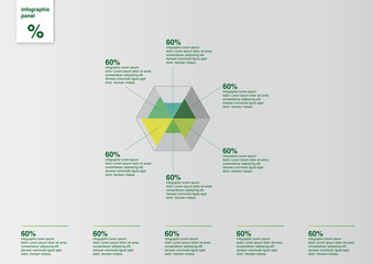 Infographic Template Diagramm