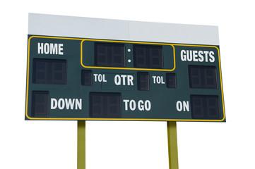 American Football Scoreboard