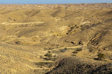 Sahara Desert at Matmata, Tunisia