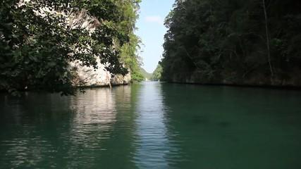 Narrow Channel Through Islands