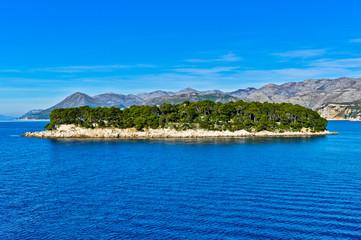 Adriatic Landscape, Daksa Island in Dubrovnik, Dalmatia