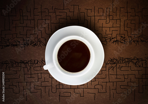 canvas print picture Coffee break