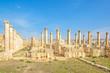 The Baths of Placcus in Gerasa, modern Jerash, Jordan