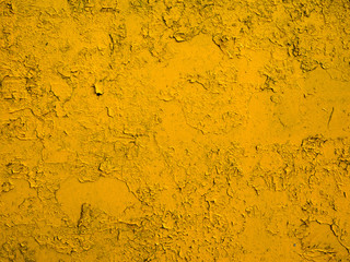 yellow painted metal texture