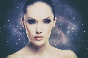 Beauty Universe, female fashion portrait