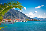 Nydri harbour at Lefkada, Greece. - 69917945