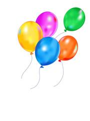 Colrful balloons