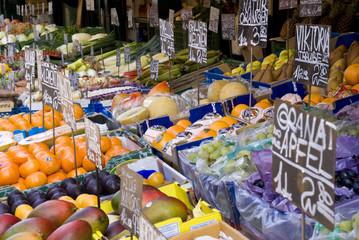 Naschmarkt Wien Obststand
