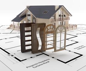 Puertas y ventanas para la casa. Ahorro energético.