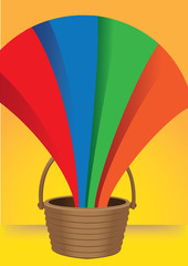 A Bucket of Emerging Rainbow