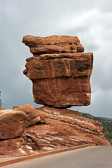 Balanced Rock in Colorado Springs