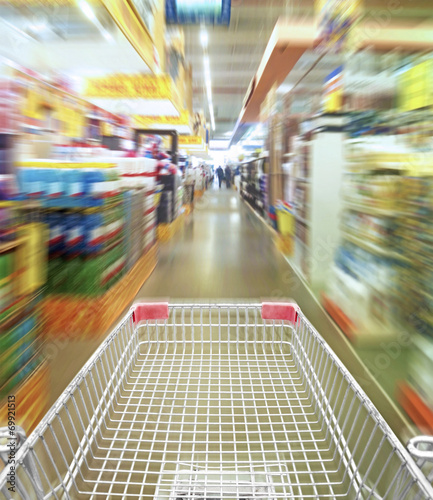 Keuken foto achterwand Boodschappen Shoping