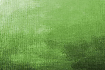 Green acrylic paint texture