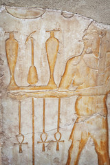 Luxor carving