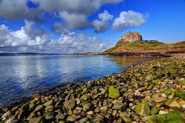 Holy Island, Northumberland, UK