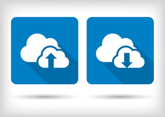 Download and upload content to the cloud.App