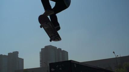Skateboard Dive