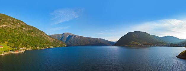 Fjord Sogndal - Norway