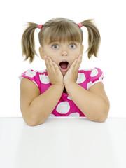 Surprised girl