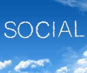 Cloud social