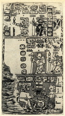 Story of deluge in Madrid Codex