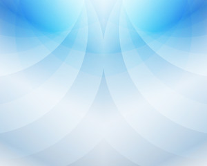 Heaven Blue Sky Wave Abstract Background Vector Illustration