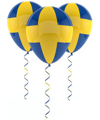 Swedish balloons - Flag