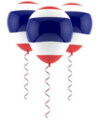 Thai flag balloon