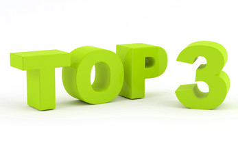 Top three - 3