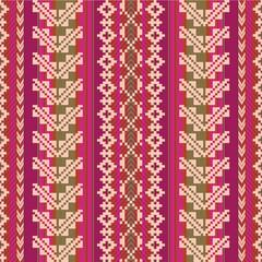 South american fabric seamless pattern