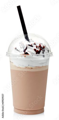 Czekoladowy koktajl mleczny