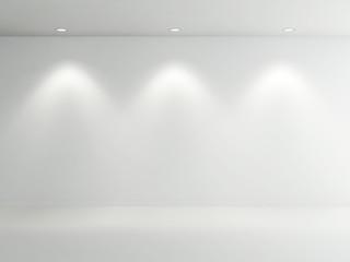 Empty Room white