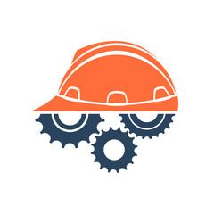Construction conceptual logo